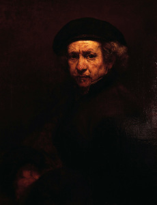 Picture no: 30007767 Rembrandt, Selbstbildnis 1659 Created by: Rembrandt Harmenszoon van Rijn