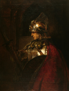 Picture no: 30007769 Alexander the Great / Paint. / Rembrandt Created by: Rembrandt Harmenszoon van Rijn