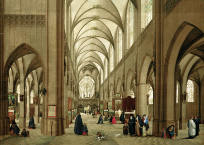 Picture no: 30007839 Steenwijk u.Brueghel, Antwerp.Kathedrale Created by: Jan Brueghel der Ältere