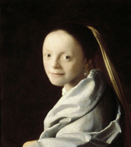 Picture no: 30007899 Vermeer / Head of a girl / 1670 Created by: Jan Vermeer van Delft