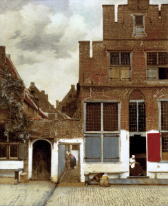 Picture no: 30007905 Vermeer / Street in Delft / c.1657/58 Created by: Jan Vermeer van Delft