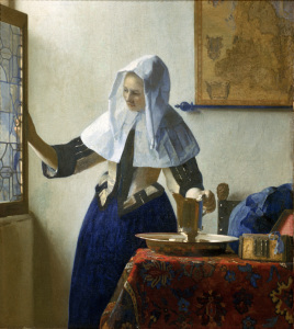 Picture no: 30007929 Vermeer /Woman with water jar /c.1664/65 Created by: Jan Vermeer van Delft