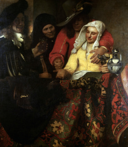 Picture no: 30007945 Vermeer / The Procuress / 1656 Created by: Jan Vermeer van Delft