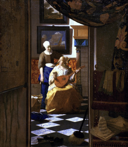 Picture no: 30007947 Vermeer/ The love letter / c.1669/70 Created by: Jan Vermeer van Delft