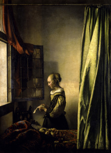 Picture no: 30007949 Vermeer / Girl reading a letter / c.1659 Created by: Jan Vermeer van Delft