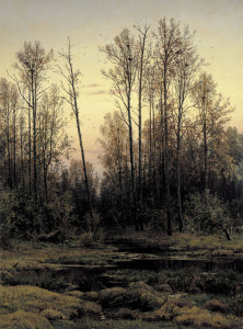 Picture no: 30007985 Shishkin / Forest in Spring / Painting Created by: Schischkin, Iwan Iwanowitsch