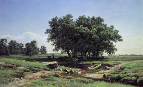 Picture no: 30007987 Shishkin / Oaks in Dubki Created by: Schischkin, Iwan Iwanowitsch