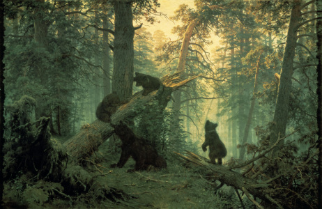 Picture no: 30007989 Shishkin / Morning in the pine forest Created by: Schischkin, Iwan Iwanowitsch