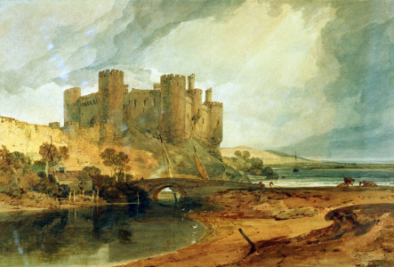 Picture no: 30007993 W.Turner, Conway Castle Created by: Turner, Joseph Mallord William