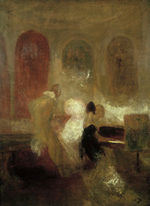 Picture no: 30008045 Turner / Music Party / Painting / c.1835 Created by: Turner, Joseph Mallord William
