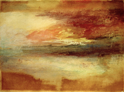 Picture no: 30008115 W.Turner, Sonnenuntergang bei Margate Created by: Turner, Joseph Mallord William
