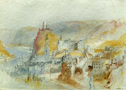 Picture no: 30008137 William Turner, Cochem Created by: Turner, Joseph Mallord William