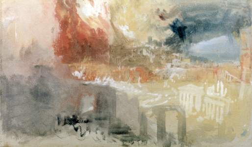 Picture no: 30008149 W.Turner / The Burning of Rome Created by: Turner, Joseph Mallord William