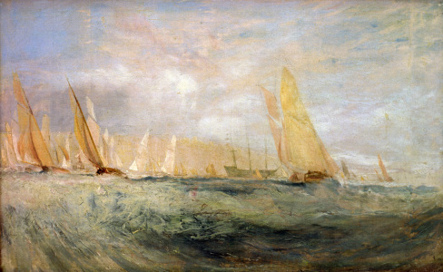 Picture no: 30008165 W.Turner, Cowes, Die Regatta kreuzt... Created by: Turner, Joseph Mallord William