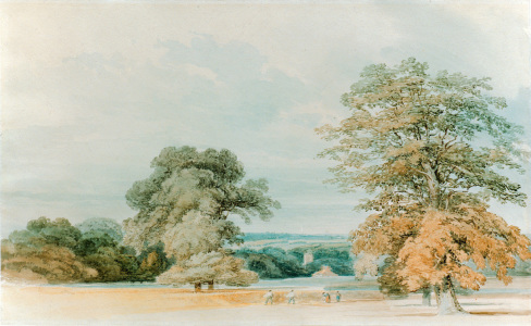 Picture no: 30008169 W.Turner / Landscape in Kent / c.1796 Created by: Turner, Joseph Mallord William