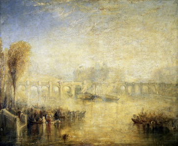 Picture no: 30008179 Paris/Pont Neuf/Painting/Turner Created by: Turner, Joseph Mallord William