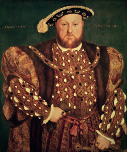 Picture no: 30008187 Henry VIII of England / Holbein / 1540 Created by: Hans Holbein der Jüngere