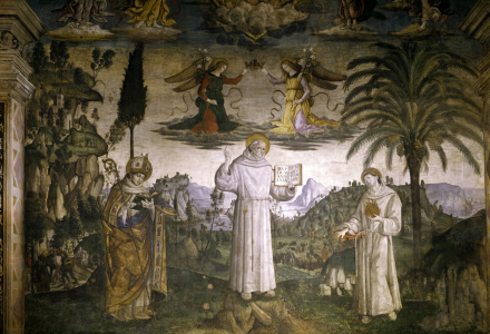 Picture no: 30008213 Pinturicchio / St. Bernard of Siena Created by: Pinturicchio, Bernadino di Betto di Biagio