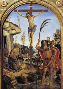 Picture no: 30008219 Pinturicchio / Christ with Saints Created by: Pinturicchio, Bernadino di Betto di Biagio