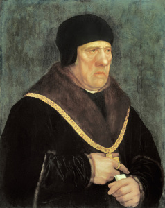 Picture no: 30008245 Sir Henry Wyatt / Painting by Holbein Created by: Hans Holbein der Jüngere