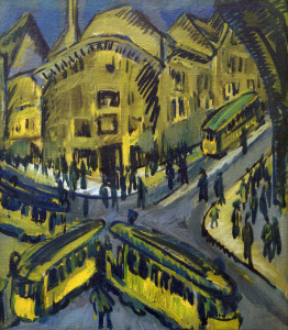 Picture no: 30008267 E.L.Kirchner, Nollendorfplatz Created by: Ernst Ludwig Kirchner