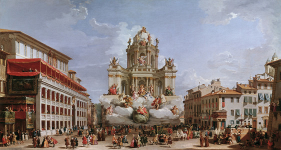 Picture no: 30008335 Rome / Piazza di Spagna / Painting Created by: Pannini, Giovanni Paolo