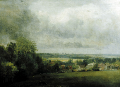 Picture no: 30008389 Constable / Higham Village / c.1804 Created by: Constable, John