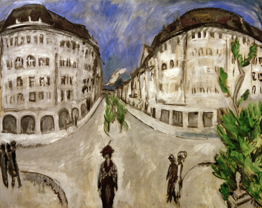Picture no: 30008401 E.L.Kirchner, Street in city park Created by: Ernst Ludwig Kirchner