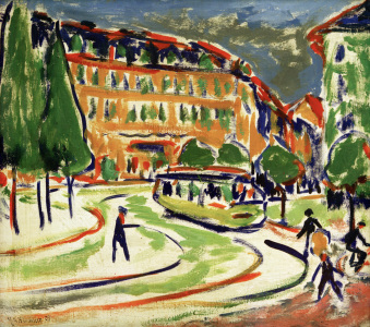 Picture no: 30008415 E.L.Kirchner, Straßenbahn in Dresden Created by: Ernst Ludwig Kirchner