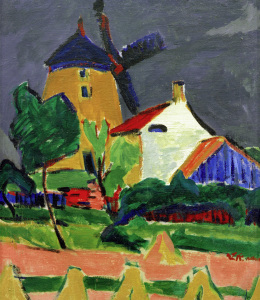 Picture no: 30008421 E.L.Kirchner, Die Windmühle... Created by: Ernst Ludwig Kirchner