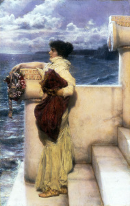 Picture no: 30008503 L.Alma-Tadema, Hero, 1898. Created by: Alma-Tadema, Lawrence