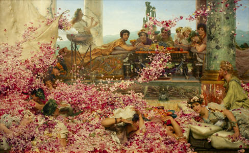 Picture no: 30008529 Roses of Heliogabalus / Alma-Tadema Created by: Alma-Tadema, Lawrence