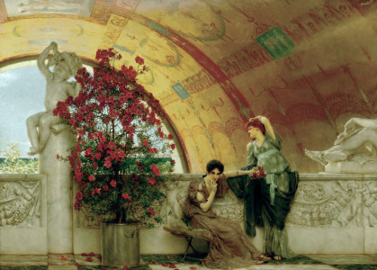 Picture no: 30008533 Alma-Tadema / Unconscious rivals Created by: Alma-Tadema, Lawrence