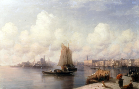 Picture no: 30008619 I.Aivazovsky, Venice, 1882. Created by: Aiwasowski, Iwan Konstantinowitsch