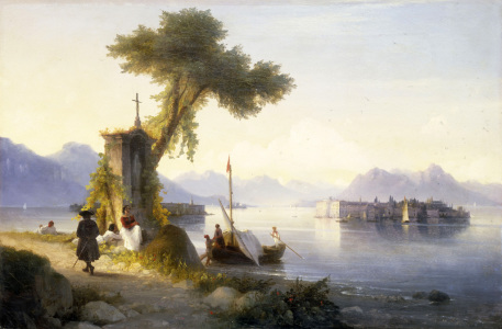 Picture no: 30008635 I.Aivazovsky, Isola Bella, 1843. Created by: Aiwasowski, Iwan Konstantinowitsch