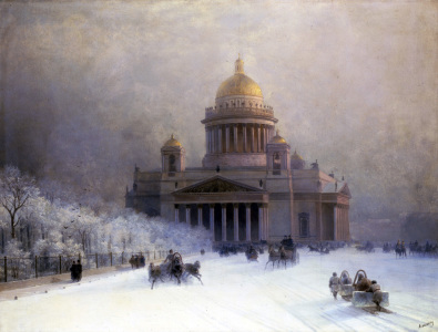 Picture no: 30008641 I.C.Aivazovsky, St Isaac's Cathedral Created by: Aiwasowski, Iwan Konstantinowitsch