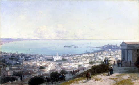 Picture no: 30008669 I.K.Aivazosky, View of Theodosia Created by: Aiwasowski, Iwan Konstantinowitsch