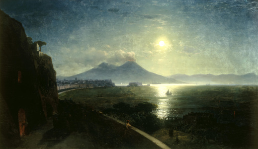 Picture no: 30008675 I.Aivazovsky, The Bay of Naples, 1892. Created by: Aiwasowski, Iwan Konstantinowitsch