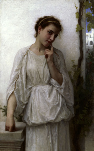 Picture no: 30008697 A.W.Bouguereau, Reverie Created by: Bouguereau, William Adolphe