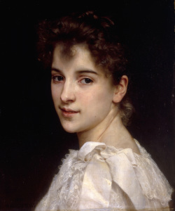 Picture no: 30008705 W.Bouguereau, Portrait of Gabrielle,1890 Created by: Bouguereau, William Adolphe