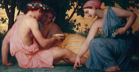 Picture no: 30008717 Bouguereau, Spring / 1858 Created by: Bouguereau, William Adolphe