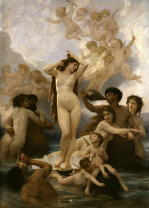 Picture no: 30008721 Bouguereau / Birth of Venus Created by: Bouguereau, William Adolphe