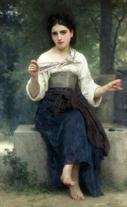 Picture no: 30008723 W.Bouguereau, Réflexions, 1893. Created by: Bouguereau, William Adolphe