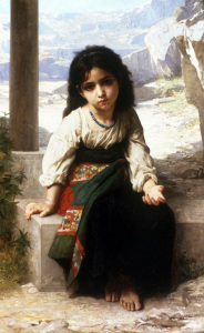 Picture no: 30008727 W.Bouguereau, Petite Mendiante, 1880 Created by: Bouguereau, William Adolphe