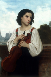 Picture no: 30008729 W. A. Bouguereau / Alone in the World Created by: Bouguereau, William Adolphe