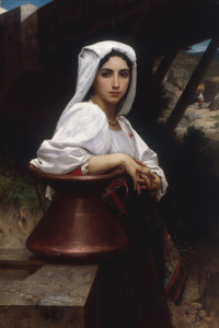 Picture no: 30008735 W.Bouguereau, Young Italian Girl, 1871 Created by: Bouguereau, William Adolphe