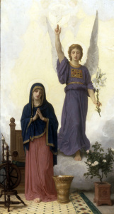 Picture no: 30008741 W.Bouguereau, The Annunciation