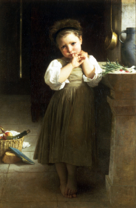 Picture no: 30008745 W.Bouguereau, Mauvaise Ecoliere, 1871 Created by: Bouguereau, William Adolphe