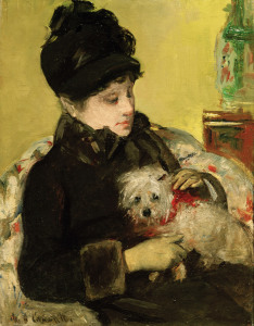 Picture no: 30008763 Cassatt / Visitor in Hat and Coat / 1879 Created by: Cassatt, Mary