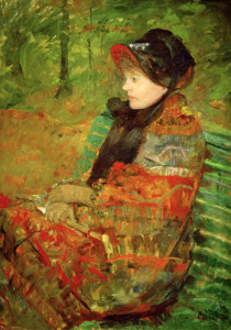 Picture no: 30008769 M.Cassatt, Autumn or Mademoiselle C. Created by: Cassatt, Mary